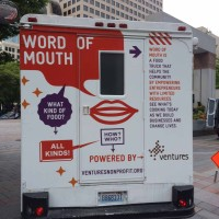 Ventures Word of Mouth Food Truck