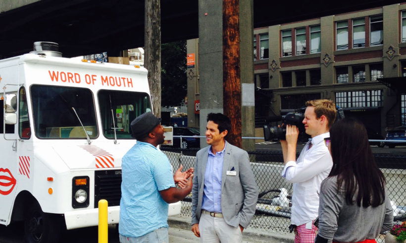 Word of Mouth on Komo 4 News!