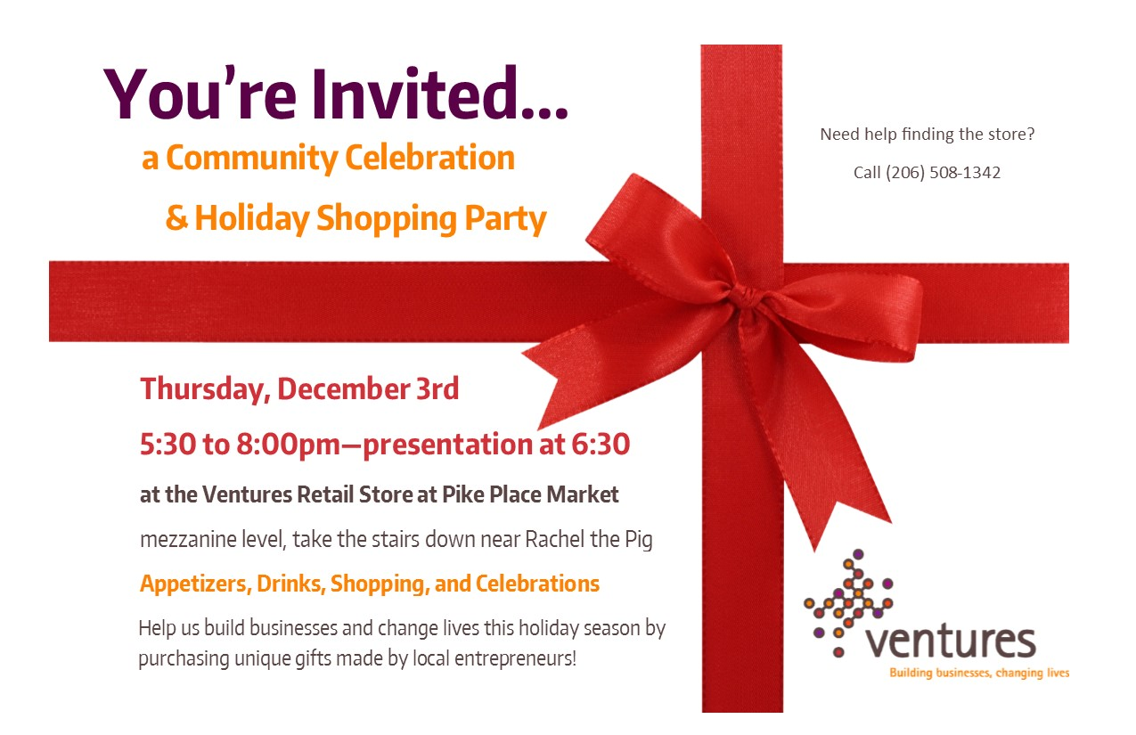 Holiday Shopping Party