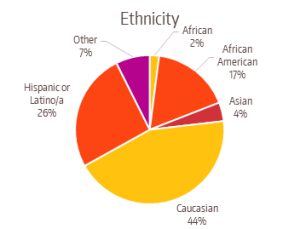 FY2015 Program Data Ethnicity