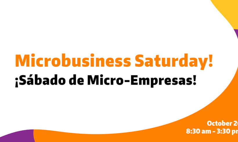 Microbusiness Saturday Workshop Schedule