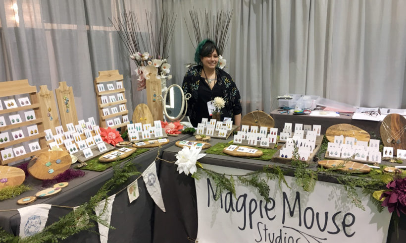 Magpie Mouse Studios at the Seattle Gift Show in 2019