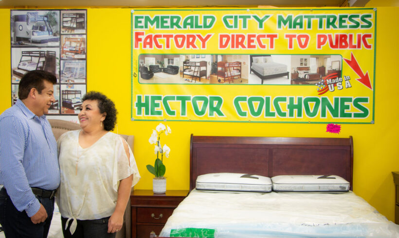 Burien Small Business Stories of Resilience: Emerald City Mattress